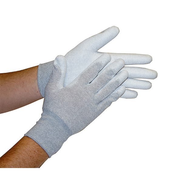 Static Dissipative ESD Gloves with Coated Palm and Fingers