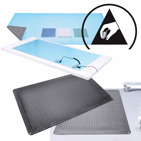 Static Dissipative vs Conductive Mats
