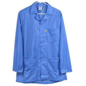 9010 Series Blue Snap Cuff ESD Jacket